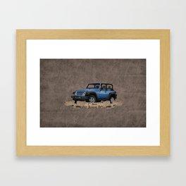 Jeep Treasure Hunt Framed Art Print