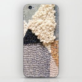 Mountain Tops Rug Hooked Art iPhone Skin