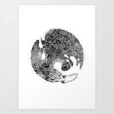 INKS'piration Art Print