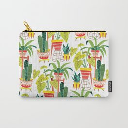 Happy Plants Happy Home Carry-All Pouch