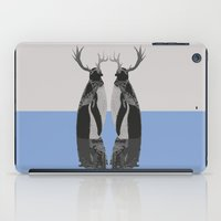 penguins iPad Cases featuring Penguins by Zaneta Antosik