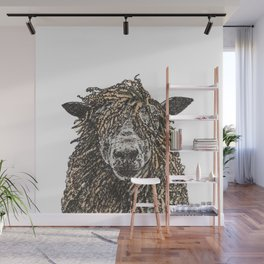 Cotswold Sheep Wall Mural