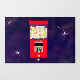 Super Moon Gumball Machine Canvas Print