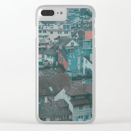 Zurich High Up Clear iPhone Case