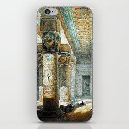 Tempel Dendera iPhone Skin