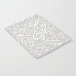 Beni Moroccan Print in Grey Notebook