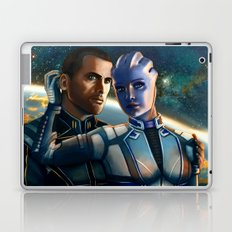 Mass Effect - Always here for you. Laptop & iPad Skin