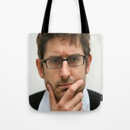 Louis Theroux, from the BBC 2019 Tote Bag