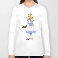 toddler Long Sleeve T-shirts featuring Alice by Tom Tierney Studios