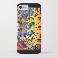 milwaukee iPhone & iPod Cases featuring MILWAUKEE: heartMilwaukee by Amanda Iglinski