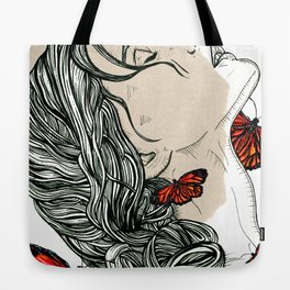 face:face Tote Bag
