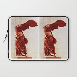 Winged Victory In The Louvre Laptop Sleeve