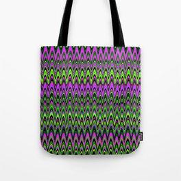 Making Waves Neon Lights Tote Bag
