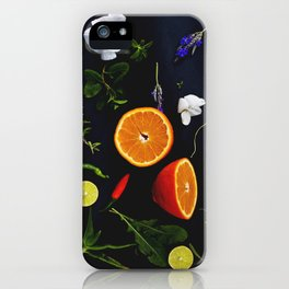 Edible Garden iPhone Case
