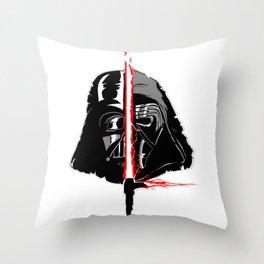 Vader/Ren Throw Pillow