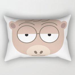 Sluggish Monkey Rectangular Pillow