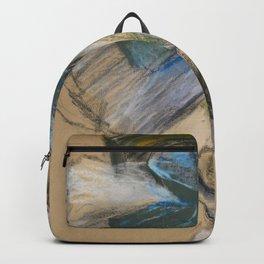 "Edgar Degas ""Dancer arranging her shoe"" Backpack"