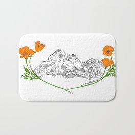 Shasta Poppies - Pop of Color Bath Mat