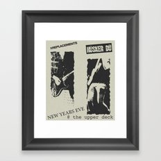 New Year's Eve @ The Upper Deck Framed Art Print