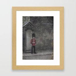 Queen's Guard Framed Art Print