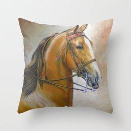 Bright Blaze Throw Pillow