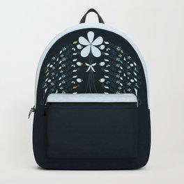 Night Garden Pattern Backpack