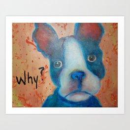 Why?? Art Print