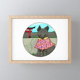 Lobito oriental Framed Mini Art Print