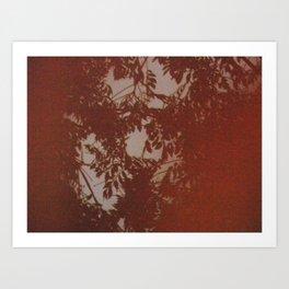 ORANGE FILM Art Print