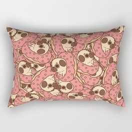 Puglie Doughnut Rectangular Pillow