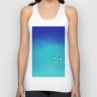airplane Tank Tops featuring Airplane by Brad Newman