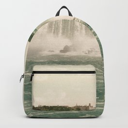 Niagara American Falls circa 1900 Backpack