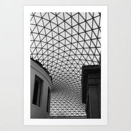 The Great Court (British Museum) Art Print