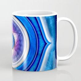 "Ajna Chakra - Brow Chakra - Series ""Open Chakra"" Coffee Mug"