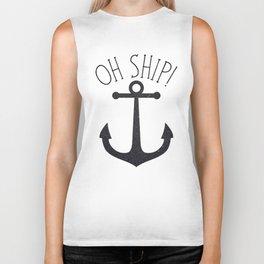 Oh Ship! Biker Tank