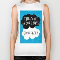 tfios Biker Tanks featuring TFiOS by Hoeroine