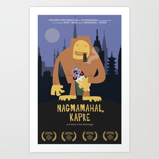 Nagmamahal, Kapre (Philippine Mythological Creatures Series #3) Art Print