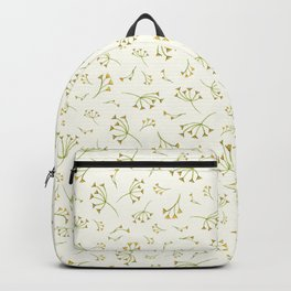 Flora Heart Collection – Yellow Branches Backpack
