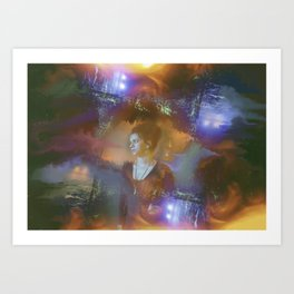 Hope in the Madness Art Print