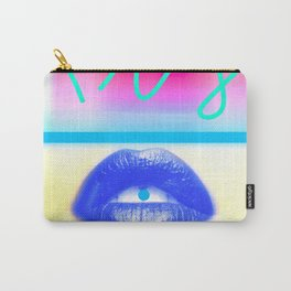 Yellow Kiss Carry-All Pouch