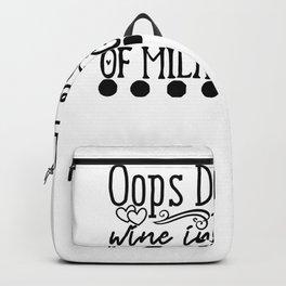 Tote Bag Design Oops Did I Buy Wine Instead of Groceries Again Wine Bag Backpack