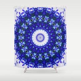 Blue Daze 01 Shower Curtain