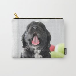 Puppy Yawn Carry-All Pouch