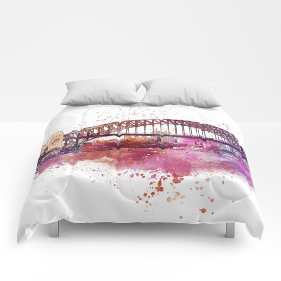Sydney Harbor Bridge Comforters