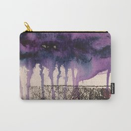 Purple Rain, original artwork by Stacey Brown Carry-All Pouch