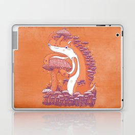 The Mushroom collector Laptop & iPad Skin