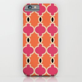 Hollywood Regency Trellis Pattern 622 iPhone Case