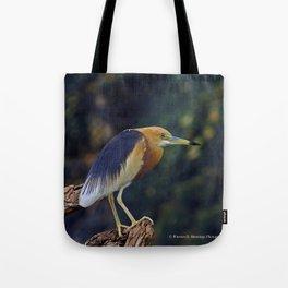 Javan Pond Heron Tote Bag