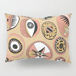 Shapes and Lines Abstract Pillow Sham