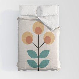 Retro Flower 1.1 Comforters